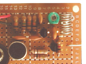 close up of FM Transmitter board