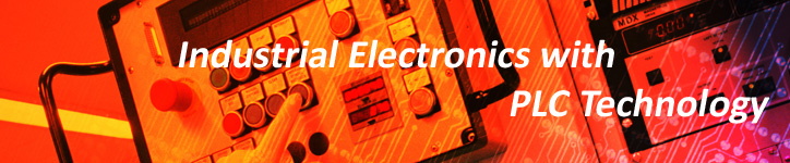 Industrial Electronics with PLC distance education course.