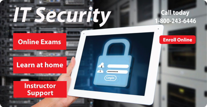 IT Security distance learning course.